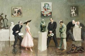 Does the Subject Matter? by Sir Alfred Munnings