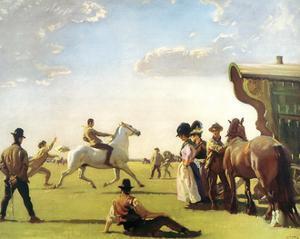 Gypsy Life by Sir Alfred Munnings