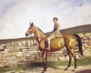 Mrs Bawden by Sir Alfred Munnings