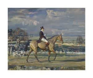 Paul Mellon on Dublin by Sir Alfred Munnings