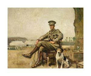 R.W. Sutherland, Cavalry Officer by Sir Alfred Munnings