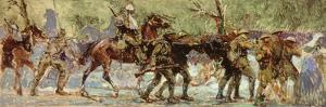 Study for a Mural, c.1918 by Sir Alfred Munnings