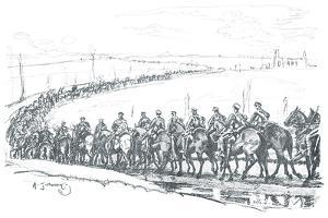 The Canadian Cavalry by Sir Alfred Munnings