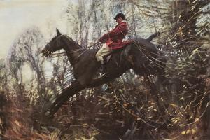 The Huntsman by Sir Alfred Munnings