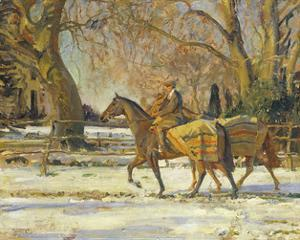 The Painter's Groom by Sir Alfred Munnings