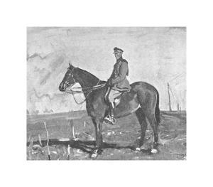 The Portrait of Warrior by Sir Alfred Munnings