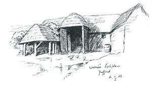 Warrior's Birth Place Yafford by Sir Alfred Munnings