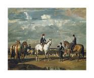 Charge of Flowerdew's Squadron, c.1918-Sir Alfred Munnings-Giclee Print