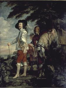 Charles I, King of England, at the Hunt by Sir Anthony Van Dyck