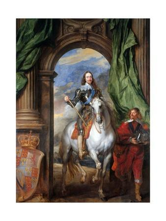 Charles I with Monsieur De St Antoine