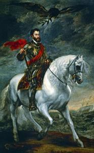 Charles V on Horseback, 1620 (?) by Sir Anthony Van Dyck