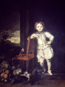 Child in White Dress by Sir Anthony Van Dyck