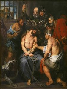 Christ Crowned with Thorns by Sir Anthony Van Dyck