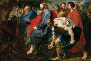 Entry of Christ into Jerusalem, C.1617 by Sir Anthony Van Dyck