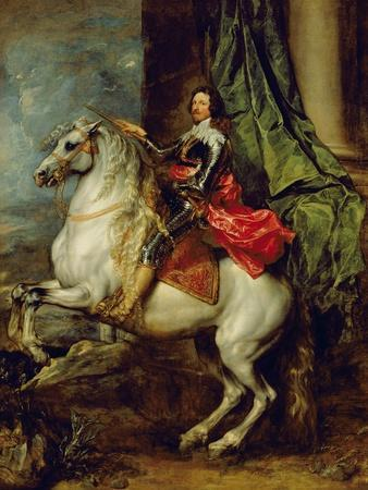 Equestrian Portrait of Thomas Francis of Carignan, Duke of Savoy, 1634
