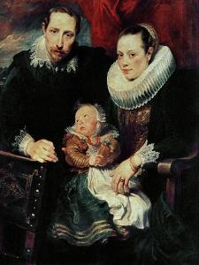 Family Portrait, Around 1621 by Sir Anthony Van Dyck