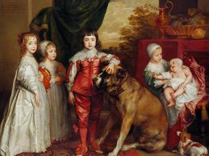 Five Eldest Children of Charles I, 1637 by Sir Anthony Van Dyck