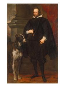 Herzog Wolfgang Wilhelm Von Pfalz- Neuburg, um 1630/32 by Sir Anthony Van Dyck