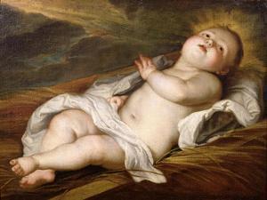 Infant Christ by Sir Anthony Van Dyck