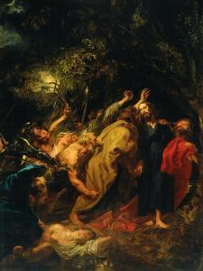 Kiss of Judas by Sir Anthony Van Dyck