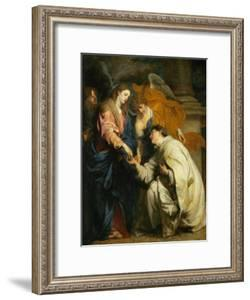 Mystic Engagement of the Beatified Hermann Joseph with the Virgin Mary, 1630 by Sir Anthony Van Dyck