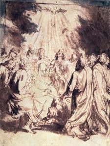 Pentecost, 1620-1 by Sir Anthony Van Dyck