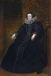 Policena Spínola, Marquesa De Leganés by Sir Anthony Van Dyck