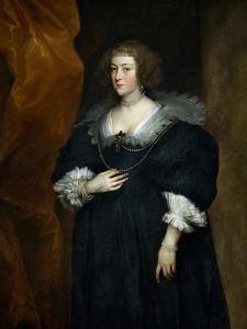 Portrait of a Woman, Probably a Member of the Noble Du Croy Family of Brussels by Sir Anthony Van Dyck