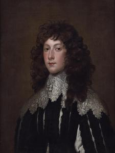 Portrait of Charles Cavendish by Sir Anthony Van Dyck
