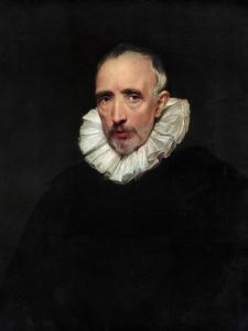 Portrait of Cornelis Van Der Geest, C1620 by Sir Anthony Van Dyck