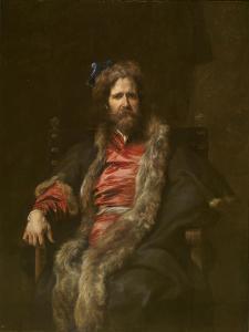 Portrait of Painter Martin Ryckaert (1587-163) by Sir Anthony Van Dyck