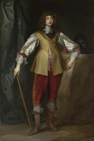Portrait of Prince Rupert of the Rhine (1619-168), Duke of Cumberland, Ca 1637