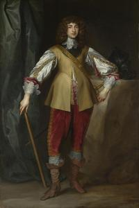 Portrait of Prince Rupert of the Rhine (1619-168), Duke of Cumberland, Ca 1637 by Sir Anthony Van Dyck