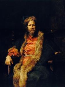 Portrait of the One-Armed Painter Martin Ryckaert by Sir Anthony Van Dyck
