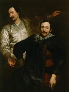 Portraits of the Painters Lucas and Cornelis De Wael by Sir Anthony Van Dyck