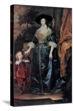 Queen Henrietta Maria and Her Dwarf Sir Jeffrey Hudson, C1633