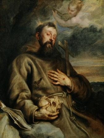 Saint Francis of Assisi, circa 1627-1632