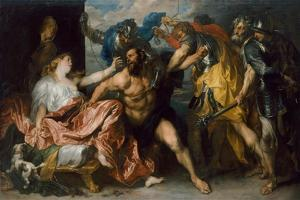Samson and Delilah, 1628-1630 by Sir Anthony Van Dyck