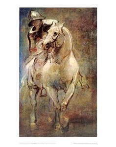 Soldier on Horseback by Sir Anthony Van Dyck