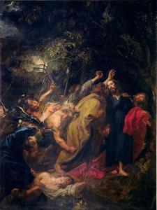 The Arrest of Christ in the Gardens, circa 1628-30 by Sir Anthony Van Dyck