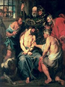 The Crowning with Thorns by Sir Anthony Van Dyck