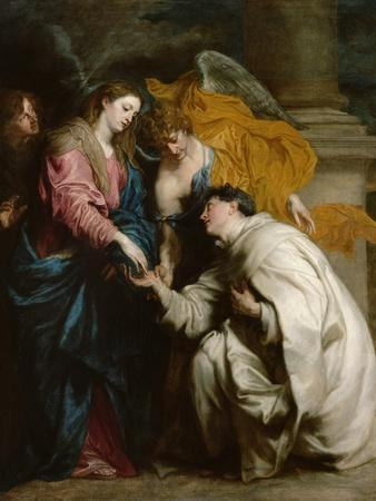 The Vision of the Blessed Hermann Joseph, 1630