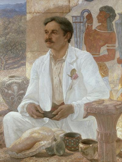 Sir Arthur Evans Among the Ruins of the Palace of Knossos, 1907-William Blake Richmond-Giclee Print