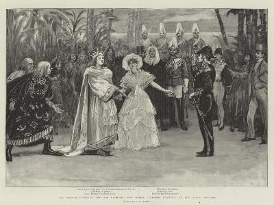 Sir Arthur Sullivan and Mr Gilbert's New Opera, Utopia, Limited, at the Savoy Theatre-Henry Marriott Paget-Giclee Print