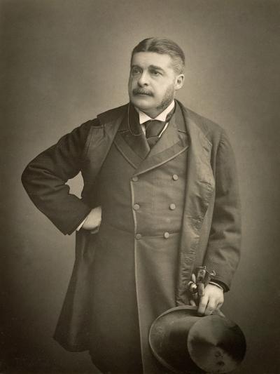 Sir Arthur Sullivan, Composer, Portrait Photograph-Stanislaus Walery-Giclee Print