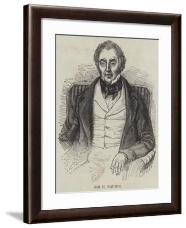 Sir C Napier--Framed Giclee Print