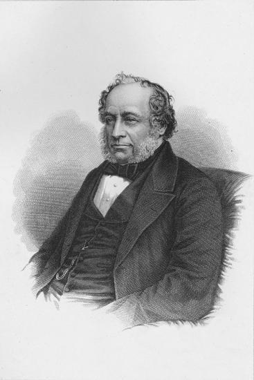 Sir Charles Barry, British architect, c1840 (1878)-Unknown-Giclee Print
