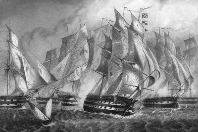 Sir Charles Napier's Victory Off Cape St Vincent, 5 July 1833-DJ Pound-Giclee Print
