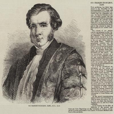 Sir Charles Nicholson, Baronet, Dcl, Lld--Giclee Print