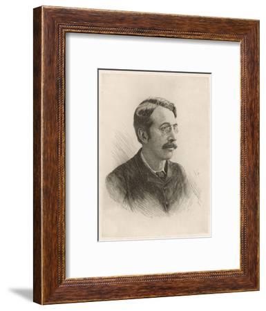 Sir Charles Stanford--Framed Giclee Print
